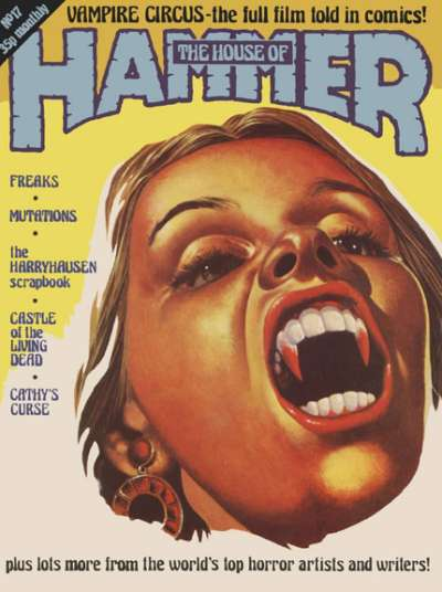 House of Hammer #17 comic books for sale