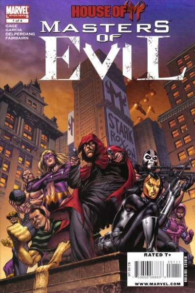 House of M: Masters of Evil comic books