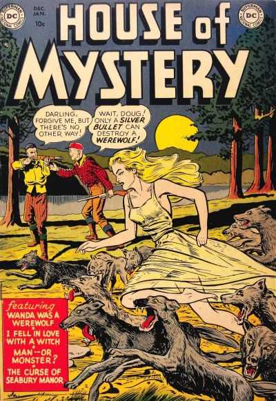 House of Mystery comic books