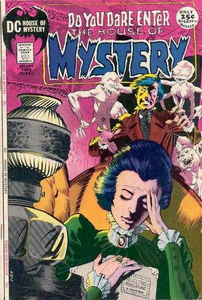 House of Mystery #194 Comic Books - Covers, Scans, Photos  in House of Mystery Comic Books - Covers, Scans, Gallery