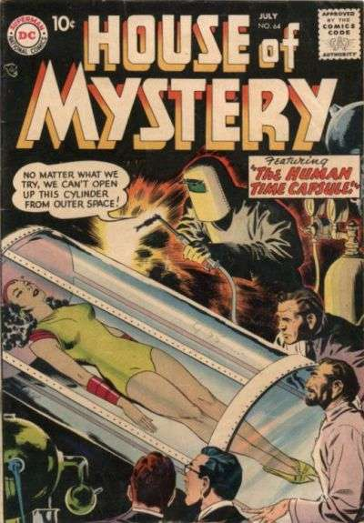 House of Mystery #64 Comic Books - Covers, Scans, Photos  in House of Mystery Comic Books - Covers, Scans, Gallery