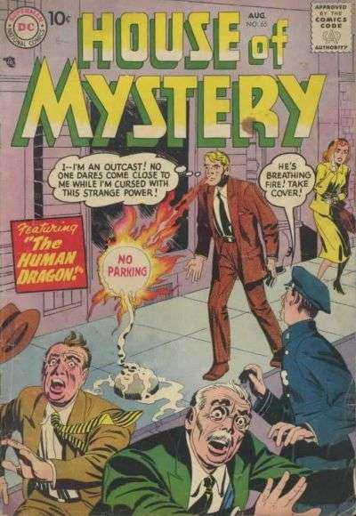 House of Mystery #65 Comic Books - Covers, Scans, Photos  in House of Mystery Comic Books - Covers, Scans, Gallery