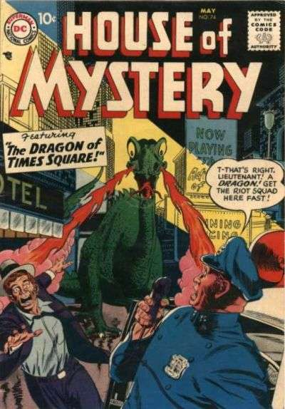 House of Mystery #74 Comic Books - Covers, Scans, Photos  in House of Mystery Comic Books - Covers, Scans, Gallery