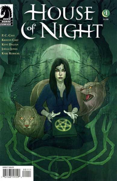 House of Night comic books