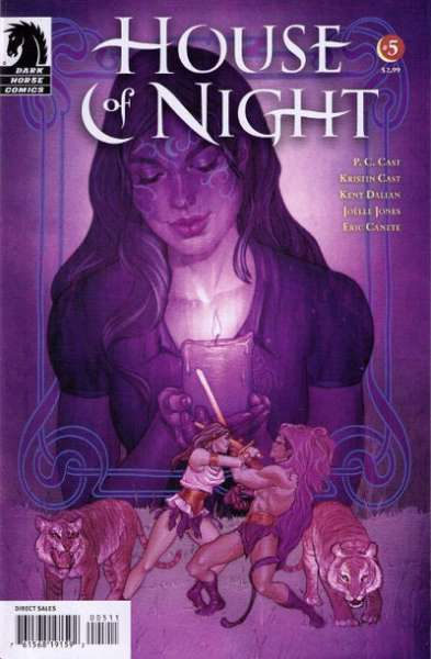 House of Night #5 Comic Books - Covers, Scans, Photos  in House of Night Comic Books - Covers, Scans, Gallery