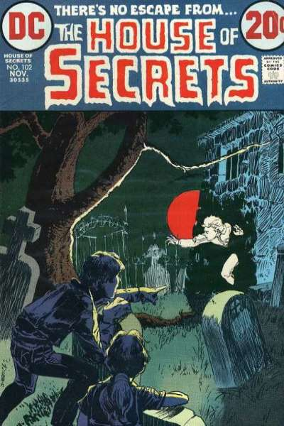 House of Secrets #102 comic books for sale