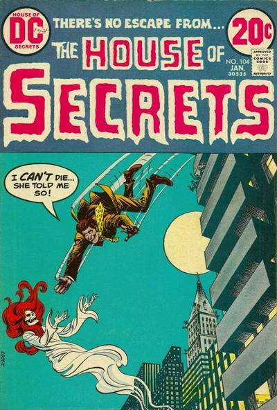 House of Secrets #104 comic books for sale
