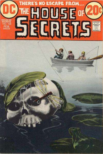 House of Secrets #105 comic books for sale