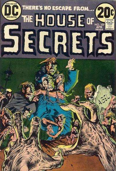 House of Secrets #107 comic books for sale