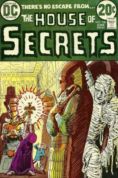 House of Secrets #108 comic books for sale