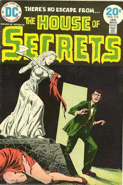 House of Secrets #115 comic books for sale
