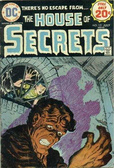 House of Secrets #121 comic books for sale