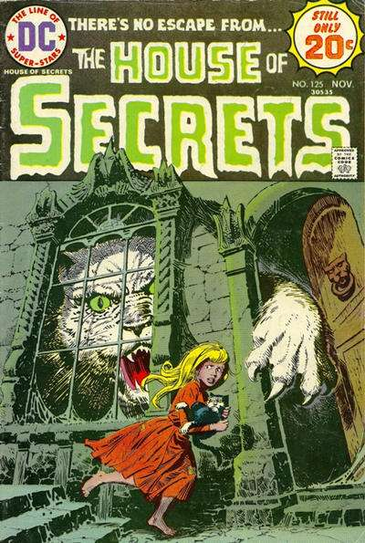 House of Secrets #125 comic books for sale