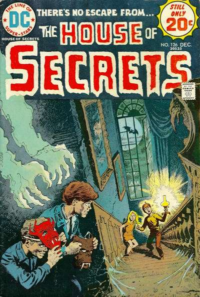 House of Secrets #126 comic books for sale