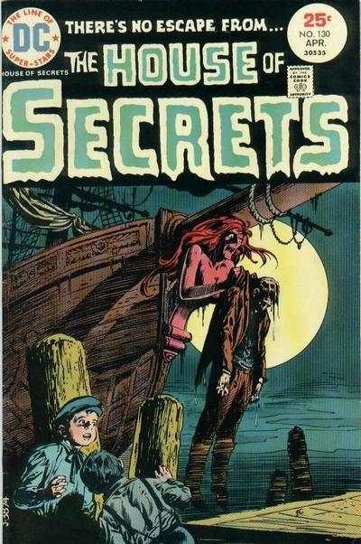 House of Secrets #130 comic books for sale