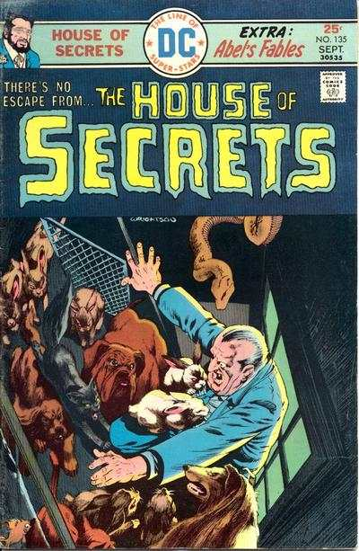 House of Secrets #135 comic books for sale