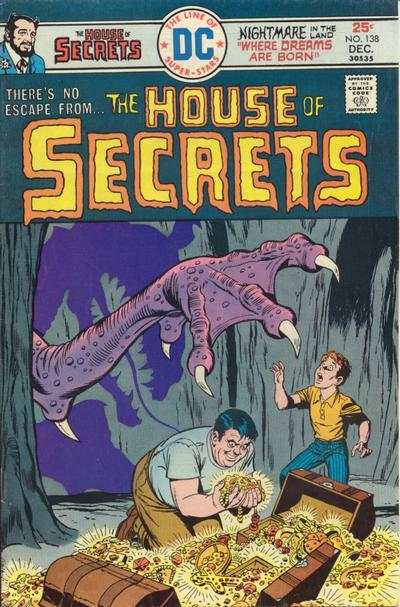 House of Secrets #138 comic books for sale