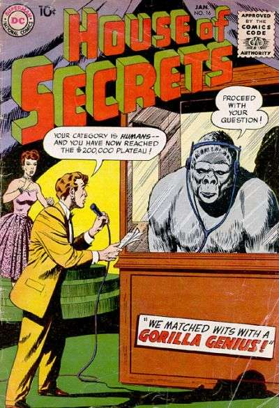 House of Secrets #16 comic books for sale