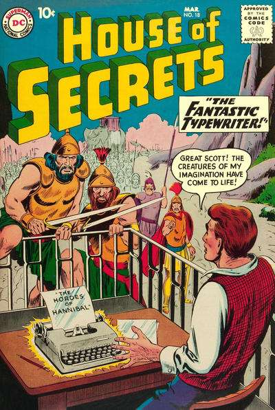 House of Secrets #18 comic books for sale