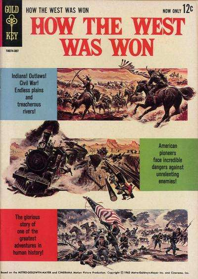 How the West Was Won Comic Books. How the West Was Won Comics.