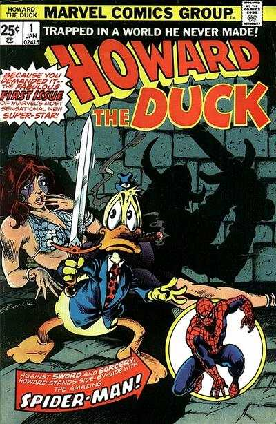 Howard the Duck comic books