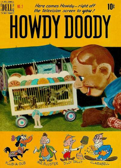 Howdy Doody #2 comic books - cover scans photos Howdy Doody #2 comic books - covers, picture gallery