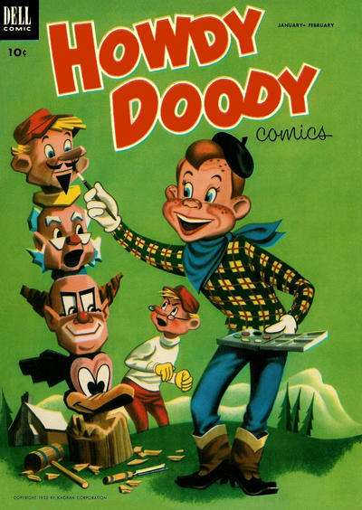 Howdy Doody #20 Comic Books - Covers, Scans, Photos  in Howdy Doody Comic Books - Covers, Scans, Gallery