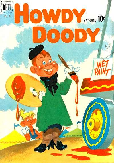 Howdy Doody #8 Comic Books - Covers, Scans, Photos  in Howdy Doody Comic Books - Covers, Scans, Gallery
