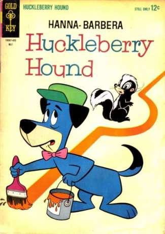 Huckleberry Hound #24 Comic Books - Covers, Scans, Photos  in Huckleberry Hound Comic Books - Covers, Scans, Gallery