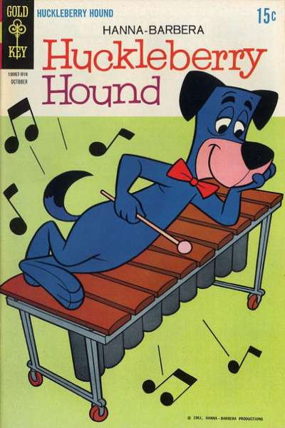 Huckleberry Hound #39 comic books - cover scans photos Huckleberry Hound #39 comic books - covers, picture gallery