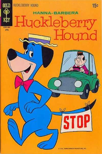 Huckleberry Hound #41 comic books - cover scans photos Huckleberry Hound #41 comic books - covers, picture gallery