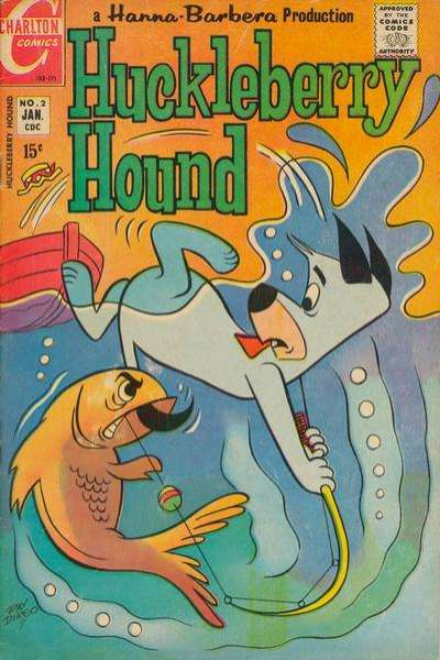 Huckleberry Hound #2 comic books - cover scans photos Huckleberry Hound #2 comic books - covers, picture gallery