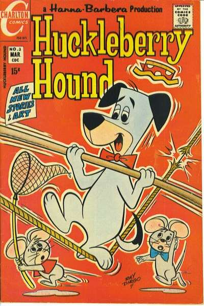 Huckleberry Hound #3 Comic Books - Covers, Scans, Photos  in Huckleberry Hound Comic Books - Covers, Scans, Gallery