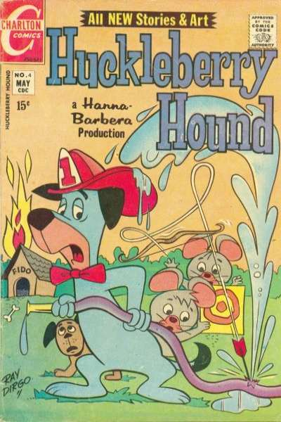 Huckleberry Hound #4 Comic Books - Covers, Scans, Photos  in Huckleberry Hound Comic Books - Covers, Scans, Gallery
