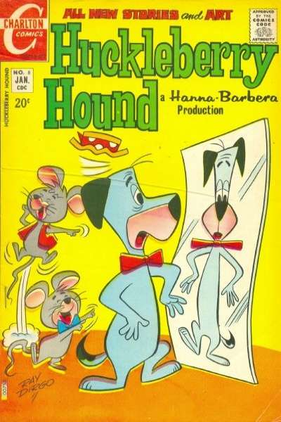 Huckleberry Hound #8 Comic Books - Covers, Scans, Photos  in Huckleberry Hound Comic Books - Covers, Scans, Gallery