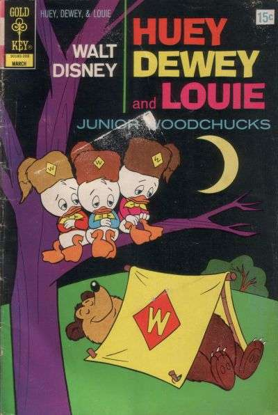 Huey Dewey and Louie Junior Woodchucks #13 comic books - cover scans photos Huey Dewey and Louie Junior Woodchucks #13 comic books - covers, picture gallery