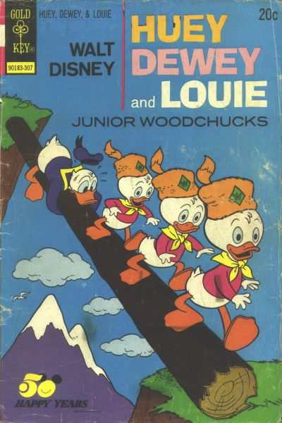 Huey Dewey and Louie Junior Woodchucks #21 comic books - cover scans photos Huey Dewey and Louie Junior Woodchucks #21 comic books - covers, picture gallery