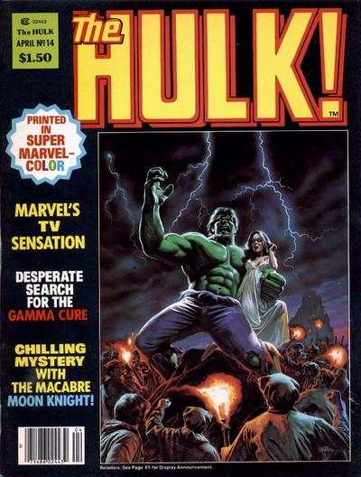 Hulk #14 comic books - cover scans photos Hulk #14 comic books - covers, picture gallery