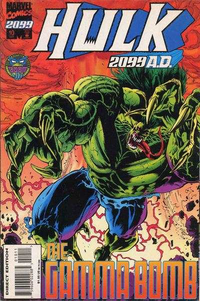 Hulk 2099 #10 comic books - cover scans photos Hulk 2099 #10 comic books - covers, picture gallery