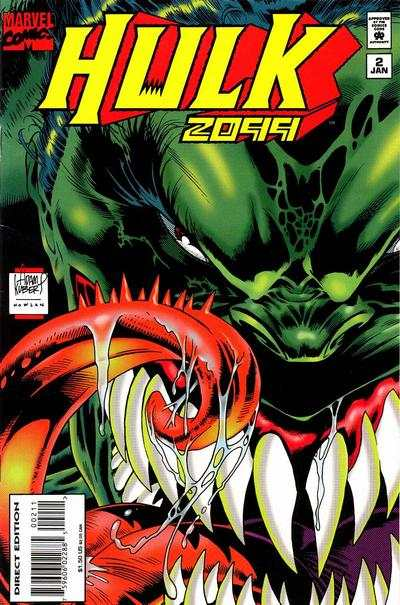Hulk 2099 #2 comic books - cover scans photos Hulk 2099 #2 comic books - covers, picture gallery