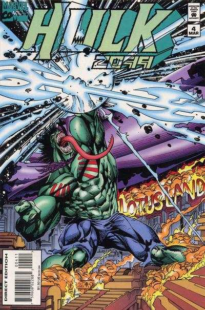 Hulk 2099 #4 Comic Books - Covers, Scans, Photos  in Hulk 2099 Comic Books - Covers, Scans, Gallery