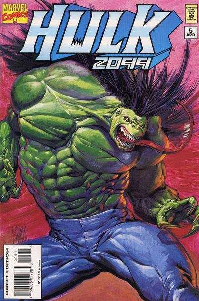 Hulk 2099 #5 comic books - cover scans photos Hulk 2099 #5 comic books - covers, picture gallery