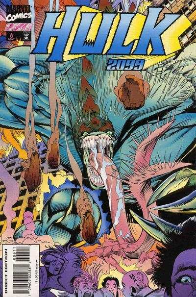 Hulk 2099 #6 Comic Books - Covers, Scans, Photos  in Hulk 2099 Comic Books - Covers, Scans, Gallery