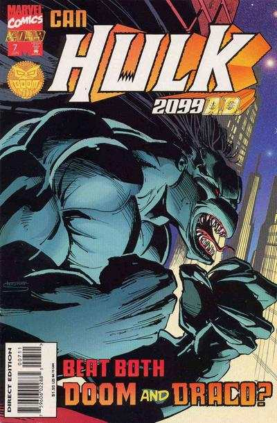 Hulk 2099 #7 comic books - cover scans photos Hulk 2099 #7 comic books - covers, picture gallery