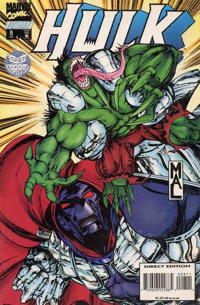 Hulk 2099 #8 comic books - cover scans photos Hulk 2099 #8 comic books - covers, picture gallery