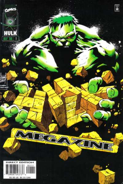 Hulk Megazine #1 comic books - cover scans photos Hulk Megazine #1 comic books - covers, picture gallery