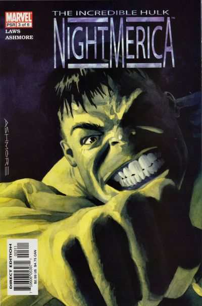 Hulk: Nightmerica #3 comic books - cover scans photos Hulk: Nightmerica #3 comic books - covers, picture gallery