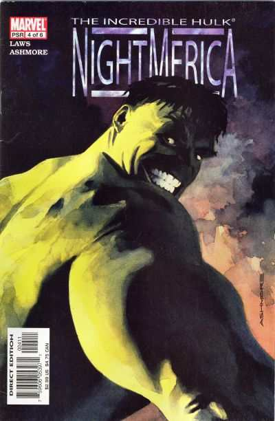Hulk: Nightmerica #4 Comic Books - Covers, Scans, Photos  in Hulk: Nightmerica Comic Books - Covers, Scans, Gallery