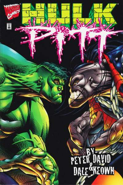 Hulk/Pitt #1 Comic Books - Covers, Scans, Photos  in Hulk/Pitt Comic Books - Covers, Scans, Gallery