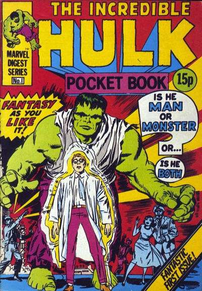 Hulk Pocket Book comic books